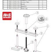 UNI-1091 Spare Parts List