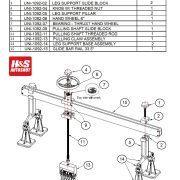 UNI-1092 Spare Parts List